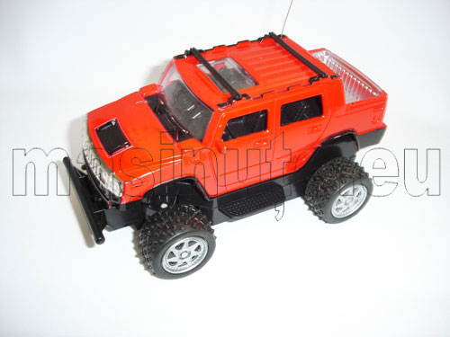 Masinuta cu telecomanda Hummer H2 Pick-up Monster Truck