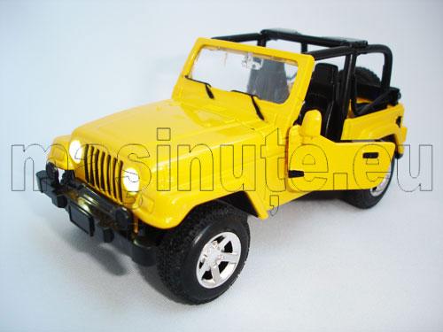 Masinuta metalica Jeep Rubicon Cabrio