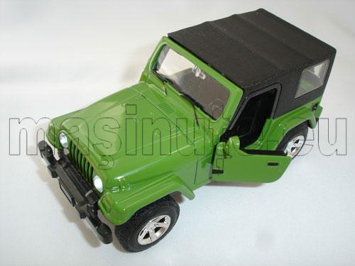 Masinuta metalica Jeep Wrangler