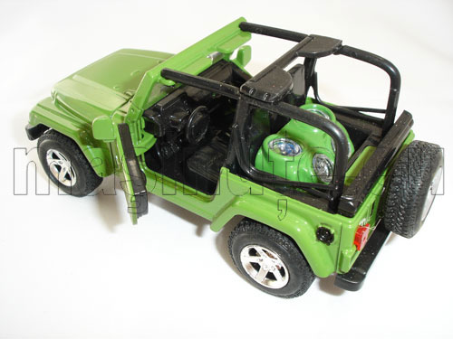 Masinuta metalica Jeep Wrangler Cabrio
