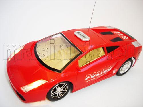 Masinuta cu telecomanda Lamborghini Gallardo Politie
