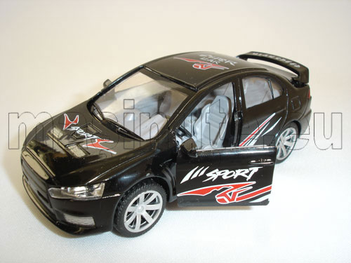 Masinuta metalica Mitsubishi EVO