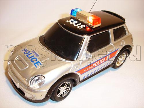 Masinuta cu telecomanda Mini Cooper Politie