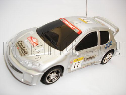 Masinuta cu telecomanda Peugeot 206