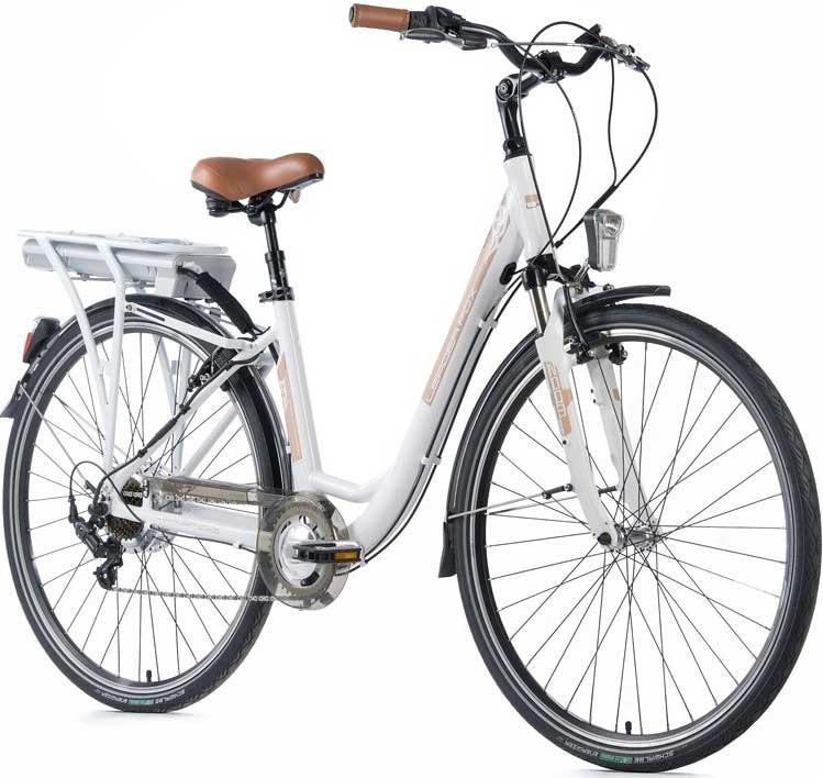 Bicicleta electrica de oras Leader Fox E-Induktora Lady