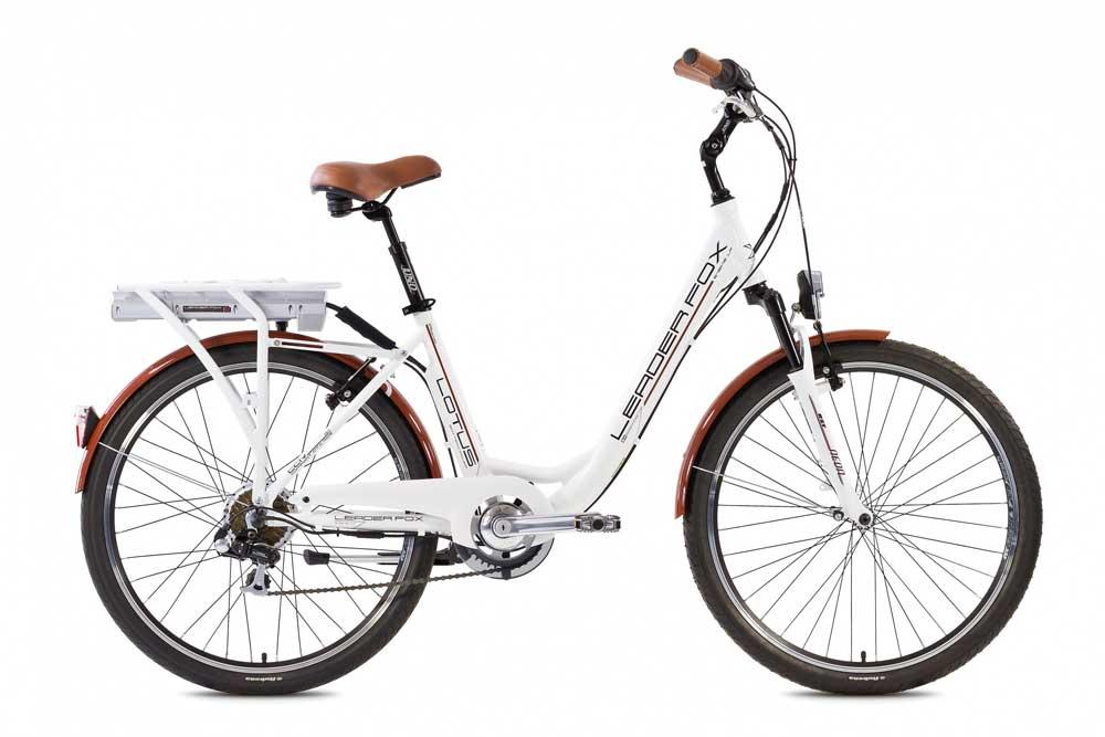 Bicicleta electrica de oras Leader Fox E-Lotus Lady