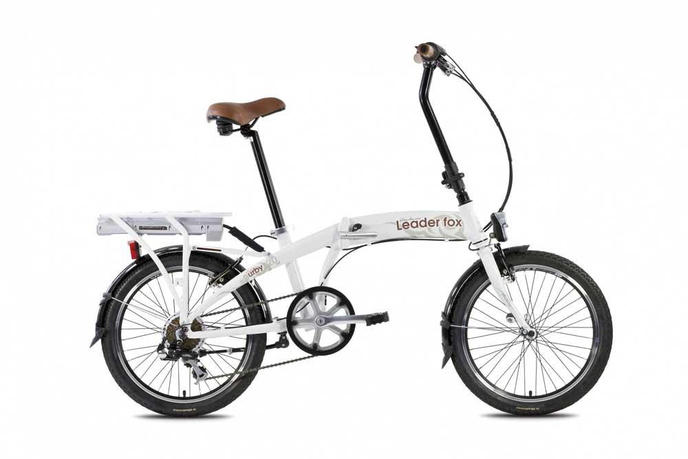 Bicicleta electrica pliabila Leader Fox E-Urby