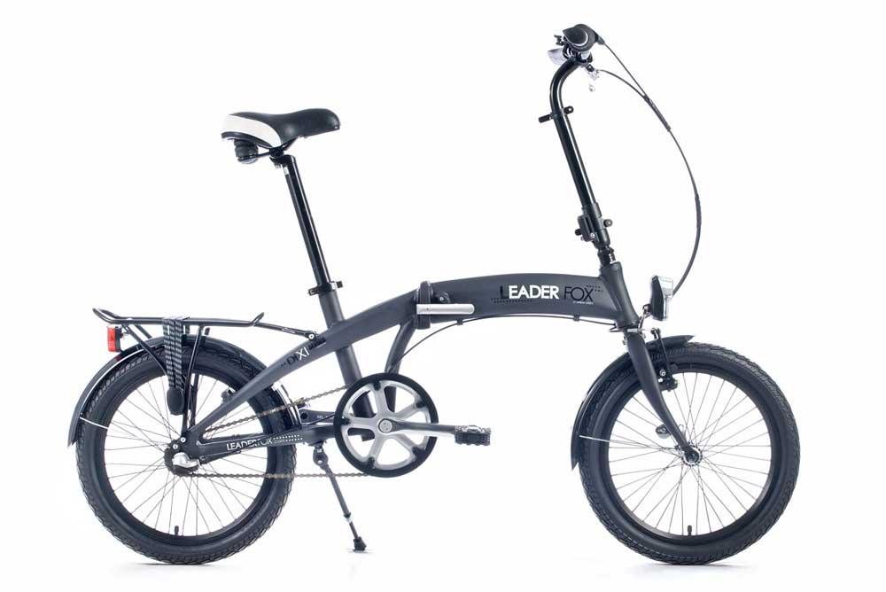 Bicicleta pliabila Leader Fox Dixi - gri