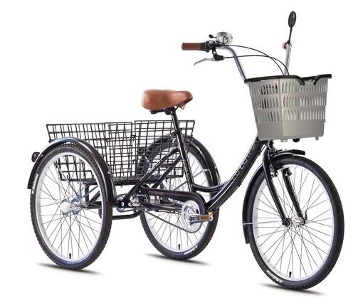 Tricicleta adulti Leader Fox Conroe negru
