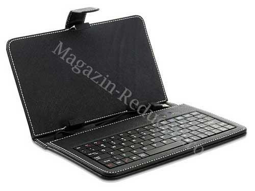 Husa cu tastatura miniUsb pentru tableta de 7 inch