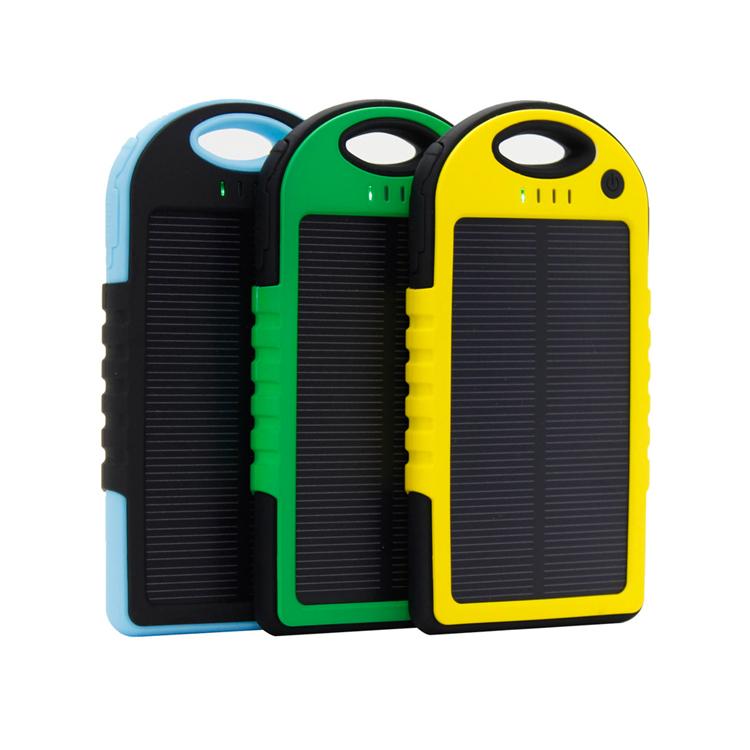 Incarcator solar universal cu baterie externa pentru telefon