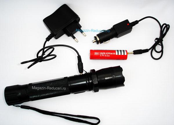 Lanterna cu electrosocuri