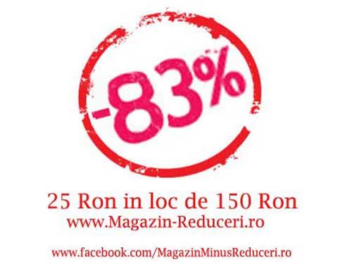 83% Reducere pentru fanii de pe Facebook