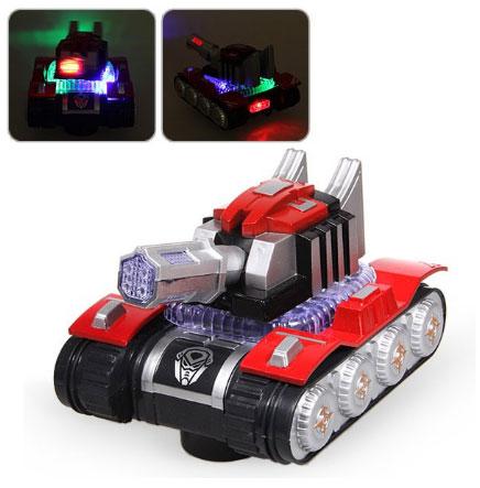 Tanc de jucarie cu baterii
