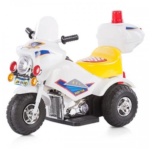 Motocicleta electrica Chipolino Police white 2016